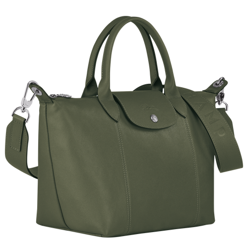 Top handle bag, Dark Green, hi-res - View 2 of 3