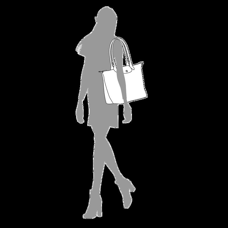 Shoulder bag L, Grey - View 5 of  5 - zoom in