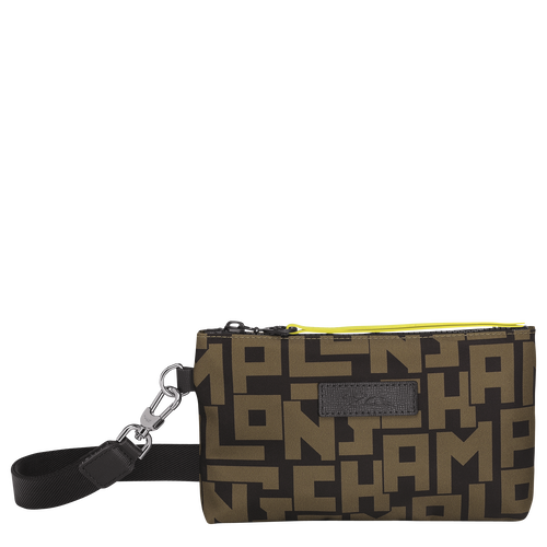 Pouch, Black/Khaki, hi-res - View 1 of 3