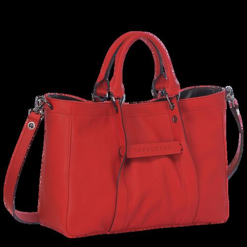 Handtasche M, 608 Zinnoberrot, hi-res