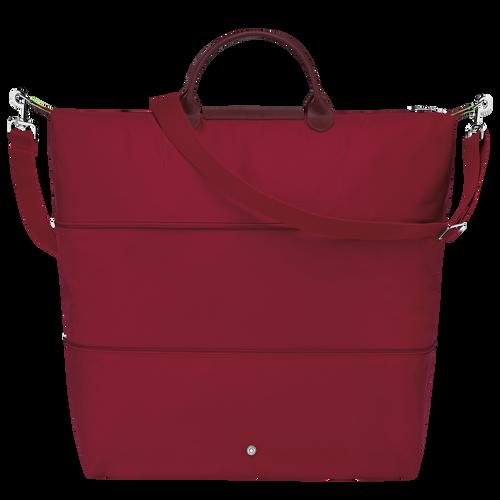 Le Pliage Green Bolsa de viaje ampliable, Rojo