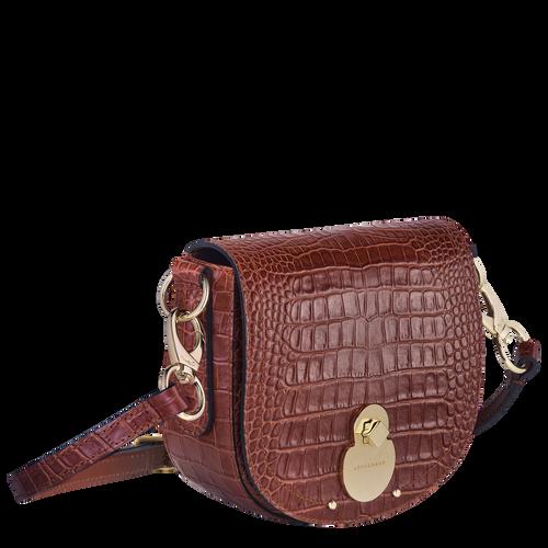Cavalcade Crossbody bag, Cognac