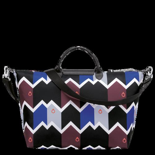 Travel bag L, Mahogany/Blue - View 3 of  3 -