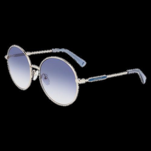 Sonnenbrille, Gold/Blau - Ansicht 2 von 2 -