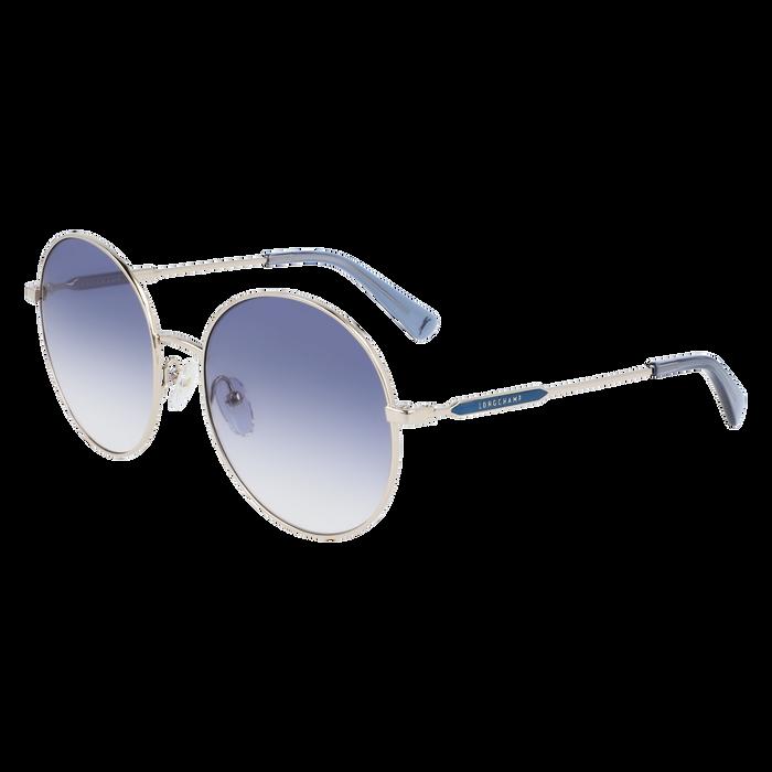 Sonnenbrille, Gold/Blau - Ansicht 2 von 2 - Zoom vergrößern