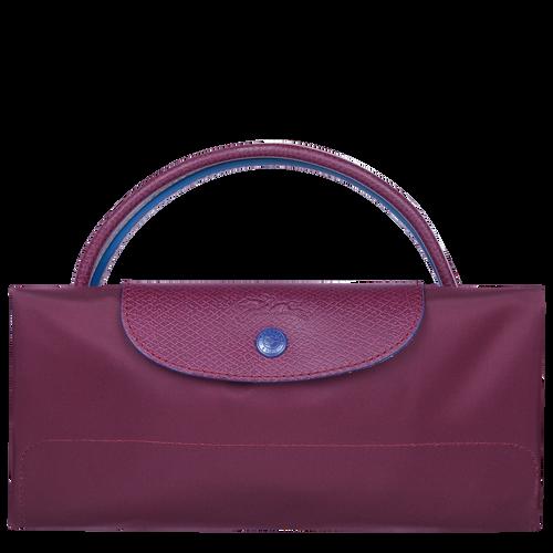 Le Pliage Club Travel bag L, Plum