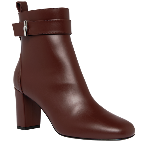 Spring-Summer 2021 Collection Ankle boots, Mahogany
