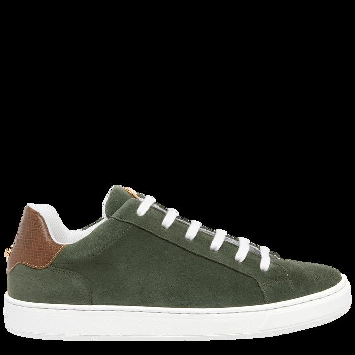 Sneakers, Vert Longchamp - Vue 1 de 5 - agrandir le zoom