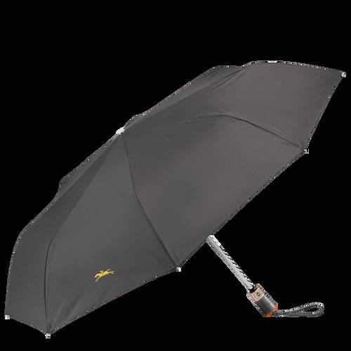 Retractable umbrella, Gun metal, hi-res - View 1 of 1