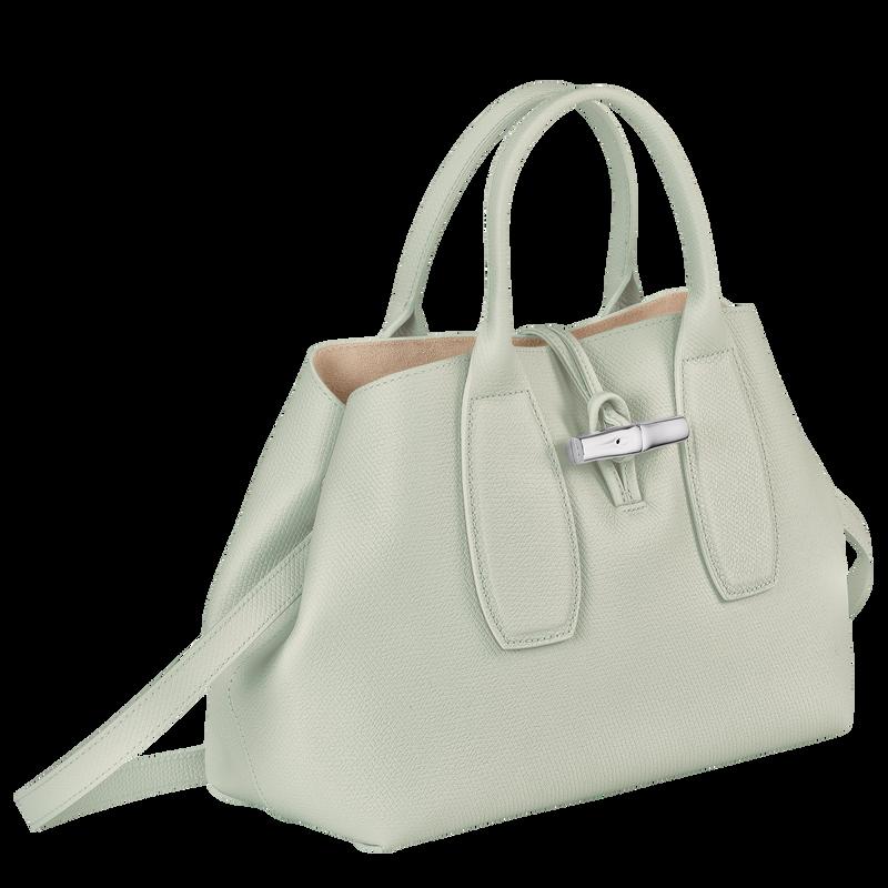 Roseau Top handle bag M, Sage