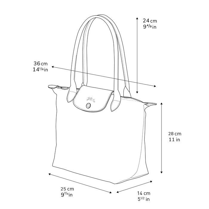 숄더백 S, 빌베리 - 2 이미지 보기 3 - 확대하기