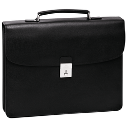 Briefcase L, 047 Black, hi-res