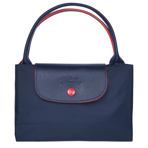 Top handle bag M, Navy - View 4 of  5 -
