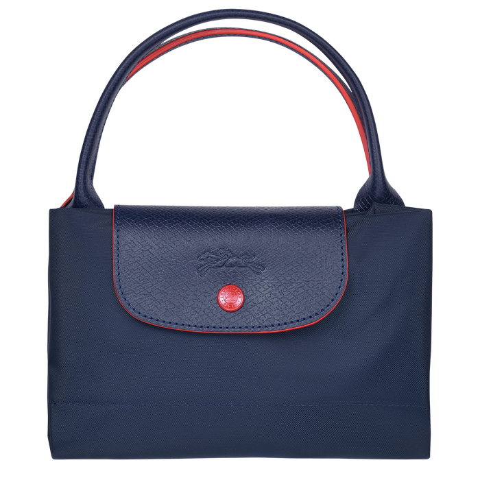 Top handle bag M, Navy - View 4 of  5 - zoom in