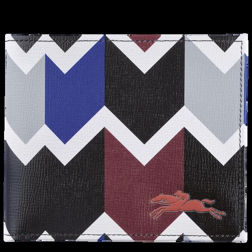 Wallet, Mahogany/Blue - View 1 of  2 -
