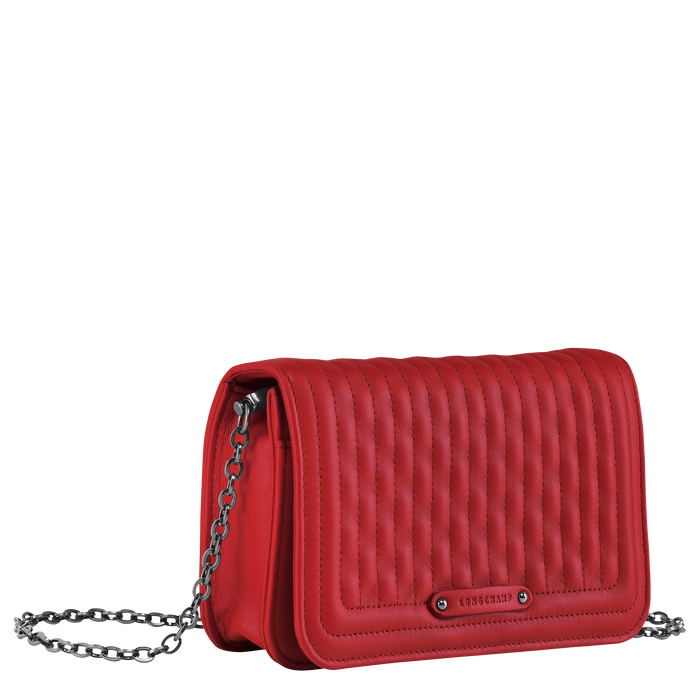 Wallet on chain, Red - View 2 of  3 - zoom in