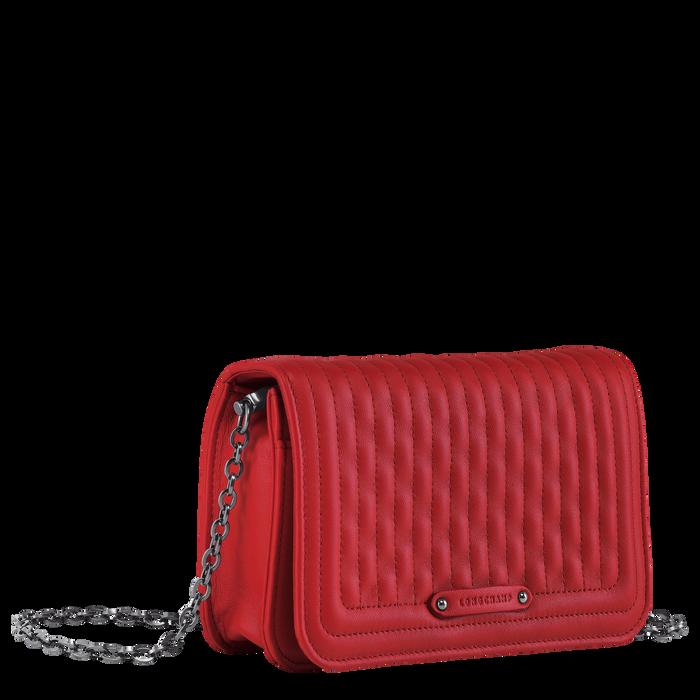 Geldbörse mit Kette, Rot - Ansicht 2 von 3 - Zoom vergrößern
