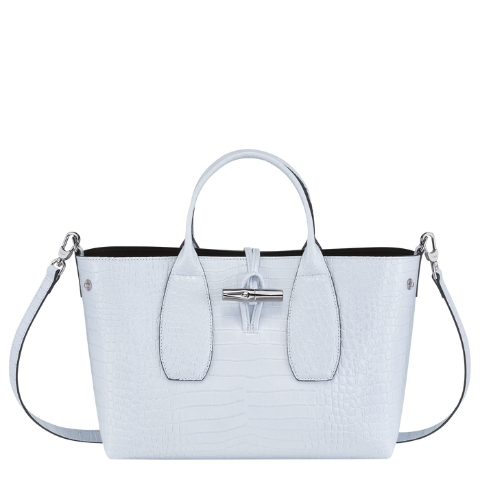 Roseau Top handle bag M, Sky Blue