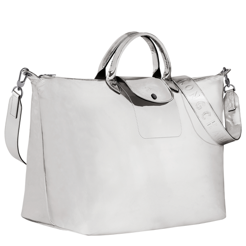 Travel bag L, Silver - View 2 of  3 -