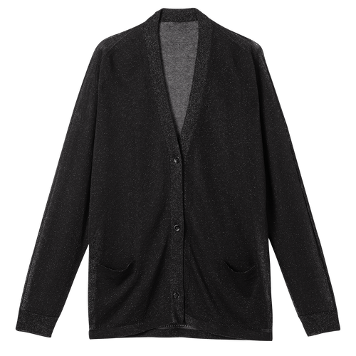 Cardigan, Black/Ebony - View 1 of  2 -