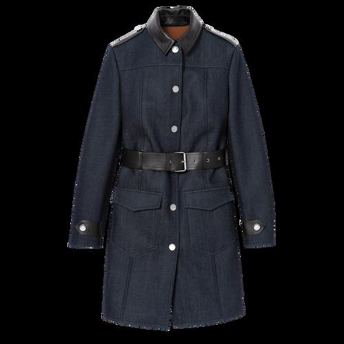 長大衣, 丹寧藍色, hi-res - 1 的視圖 1