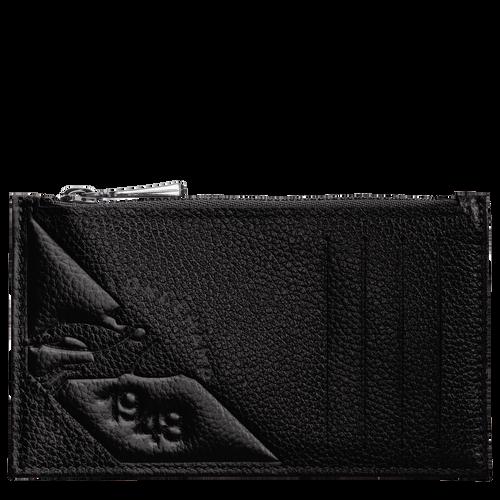Portemonnaie, Schwarz/Ebenholz - Ansicht 1 von 2 -