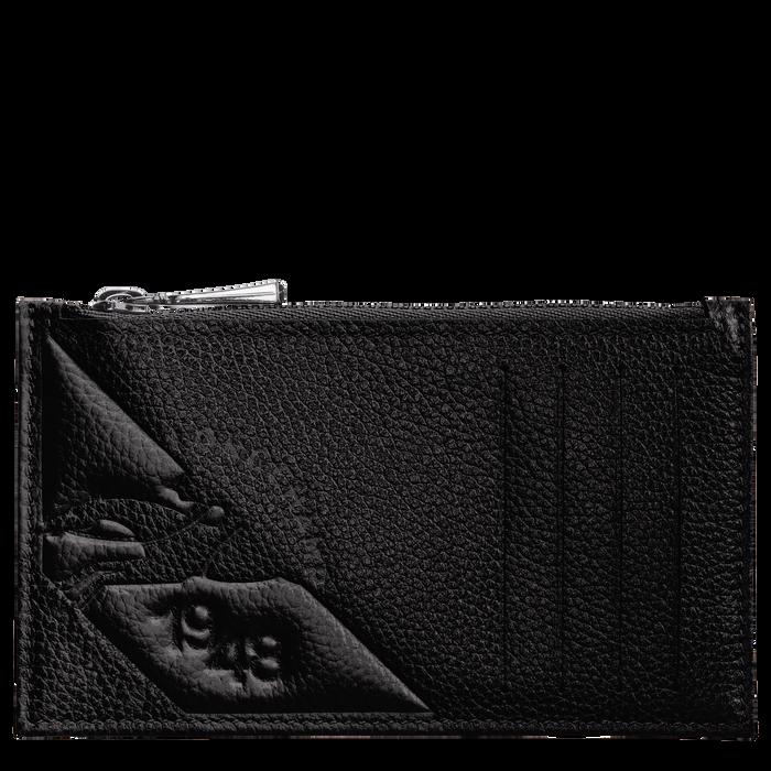 Porte-monnaie, Noir/Ebène - Vue 1 de 2 - agrandir le zoom