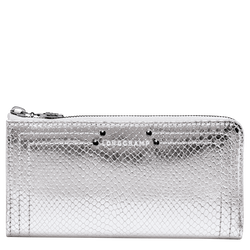 Zip around wallet, 023 Silver, hi-res