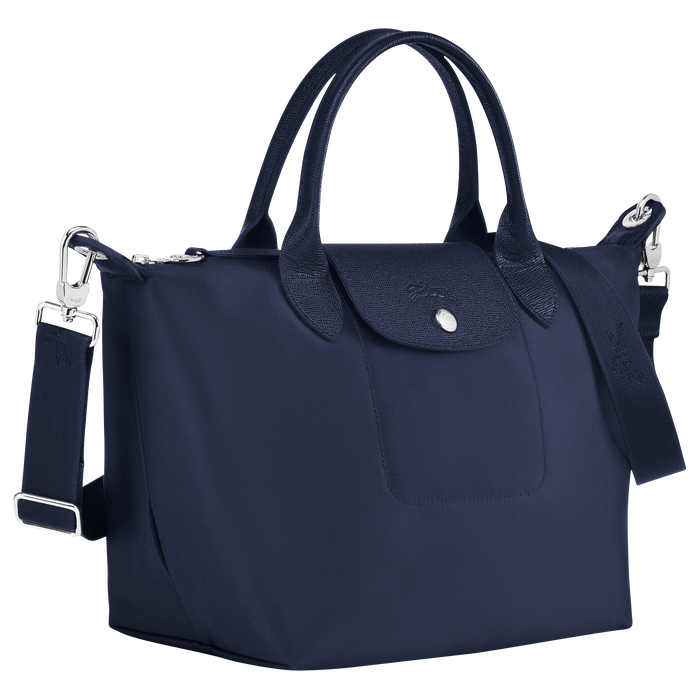 Top handle bag S, Navy - View 2 of  4 - zoom in