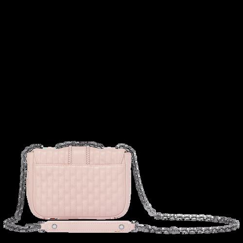 View 3 of Shoulder Bag XS, Pale Pink, hi-res