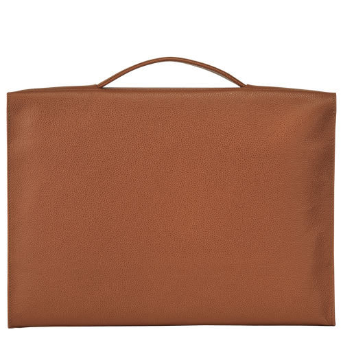 View 3 of Briefcase S, Caramel, hi-res