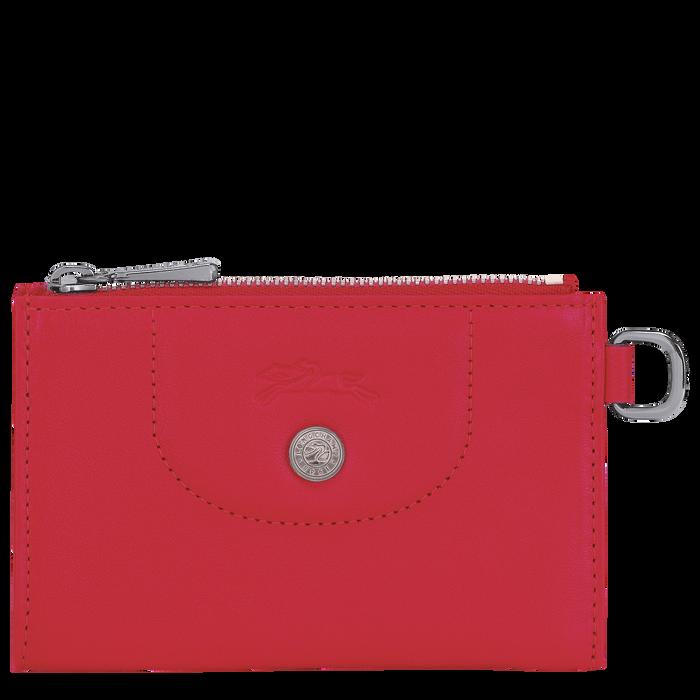 Le Pliage Cuir 鑰匙包, 紅吻色