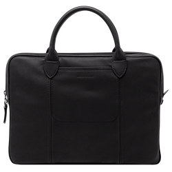 Briefcase, Black, hi-res