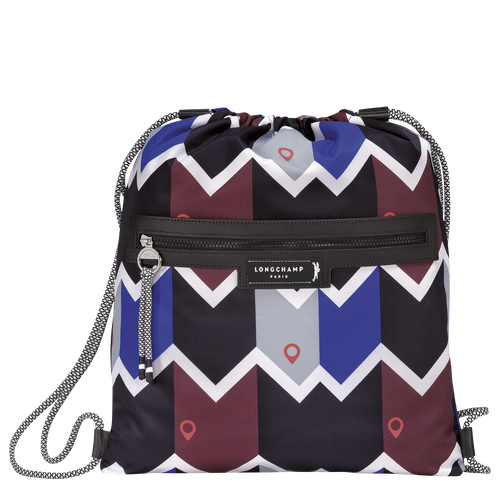 Backpack, Mahogany/Blue - View 1 of  3 -