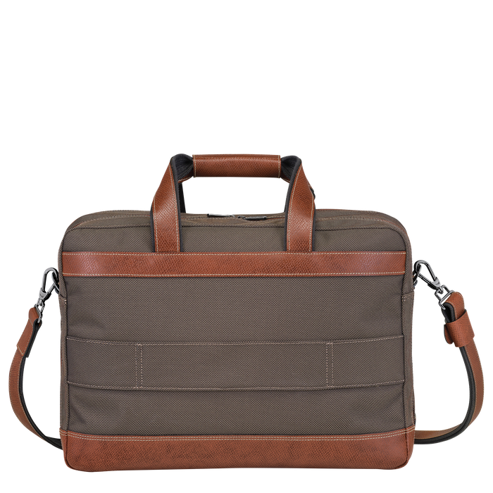 Briefcase L, Brown, hi-res - View 3 of 3
