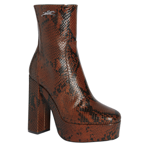 View 1 of Ankle boots, 504 Cognac, hi-res