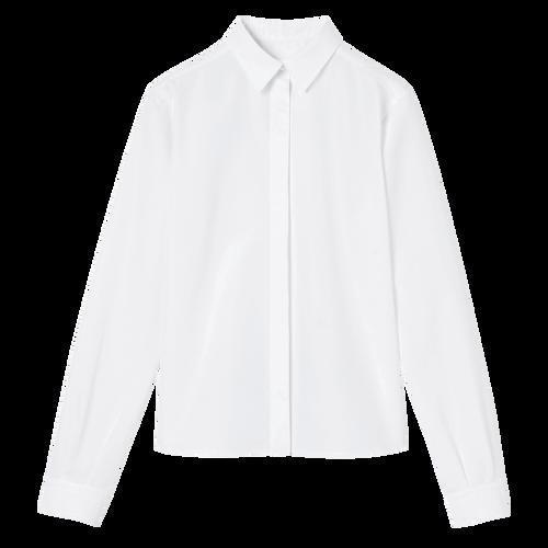 View 1 of Shirt, 007 White, hi-res