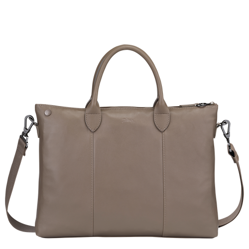 Top handle bag, Taupe - View 3 of 3 -