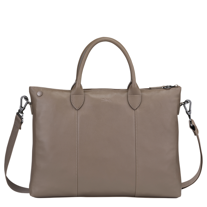 Top handle bag, Taupe - View 3 of 3 - zoom in