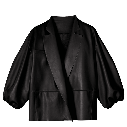 Vue 1 de Veste kimono, Noir, hi-res