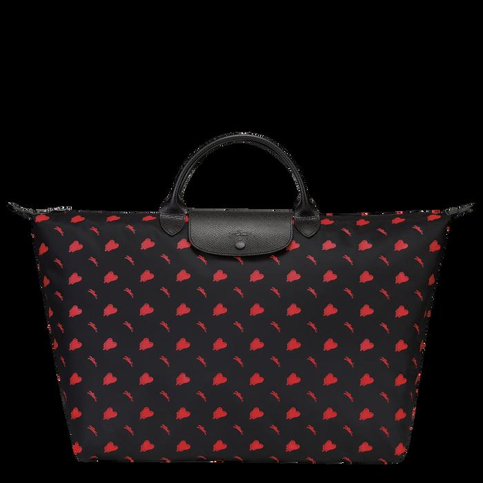 Longchamp x EU Sac de voyage L, Noir