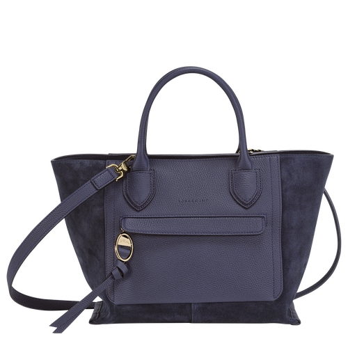Top handle bag M, Navy - View 1 of  4.0 -
