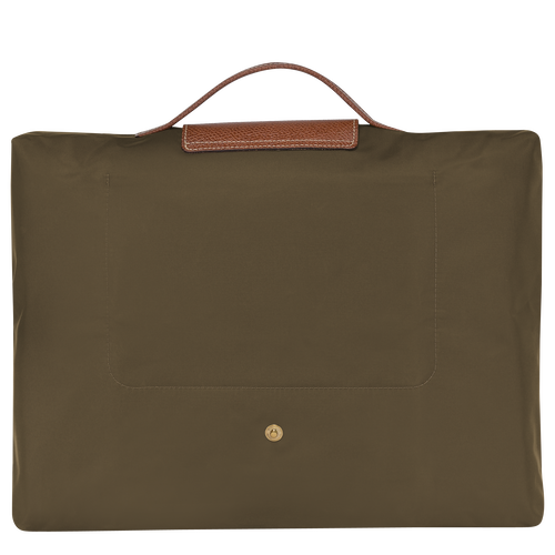 Briefcase S, Khaki - View 3 of  4 -