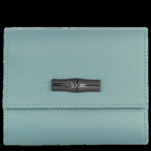Brieftasche im Kompaktformat, Salbei - Ansicht 1 von 2 -