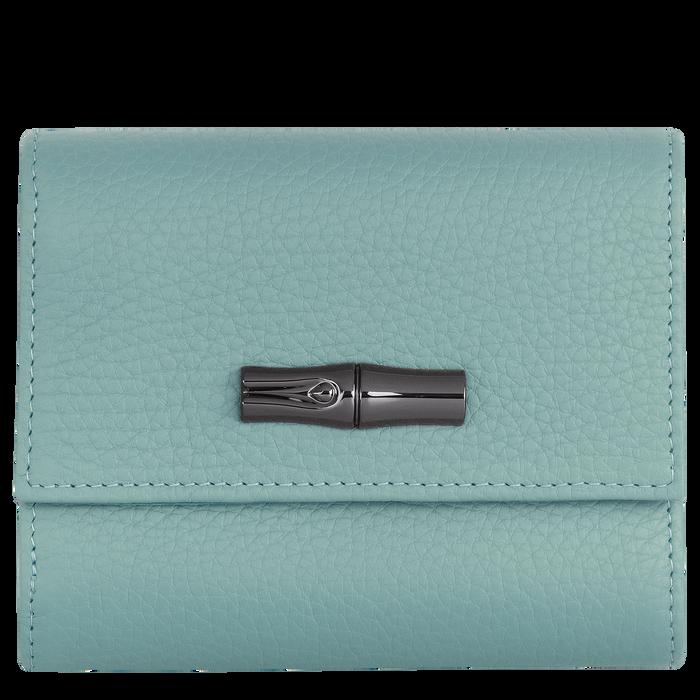 Brieftasche im Kompaktformat, Salbei - Ansicht 1 von 2 - Zoom vergrößern