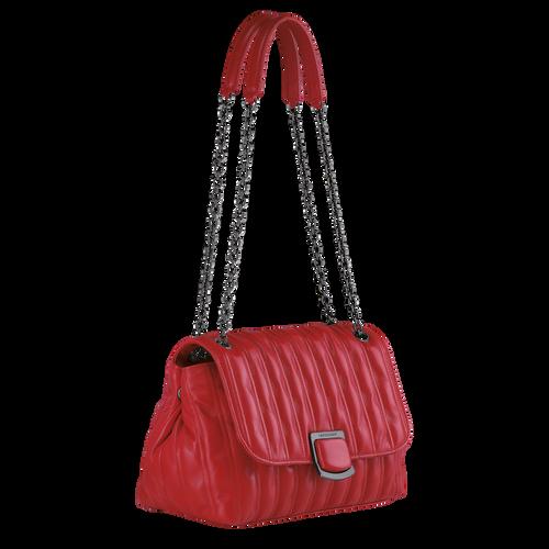 Crossbody bag M Brioche Red (10131HVV545) | Longchamp US