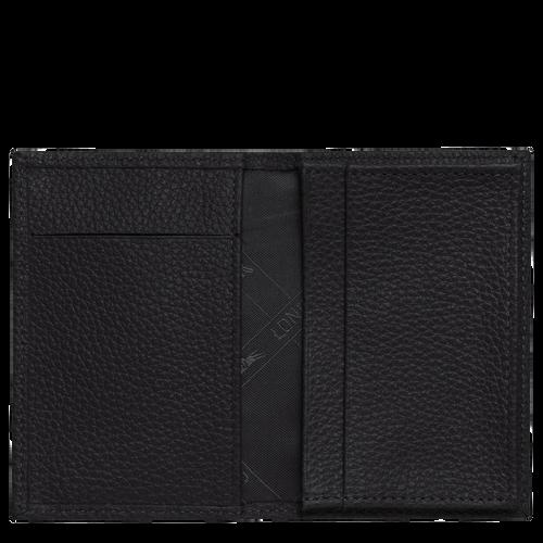 Porte-cartes, Noir - Vue 2 de 3 -