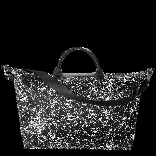 View 3 of Travel bag L, 067 Black/White, hi-res