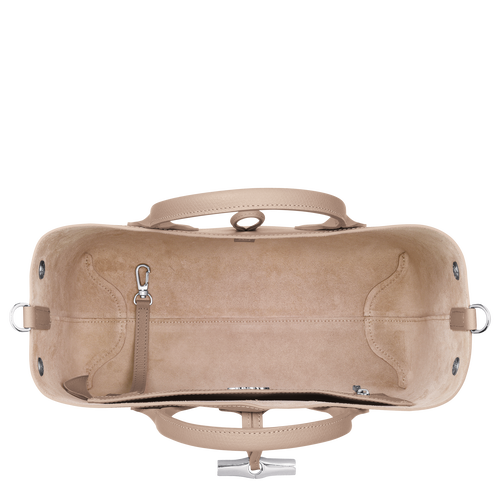 Top handle bag M, Sand, hi-res - View 5 of 5