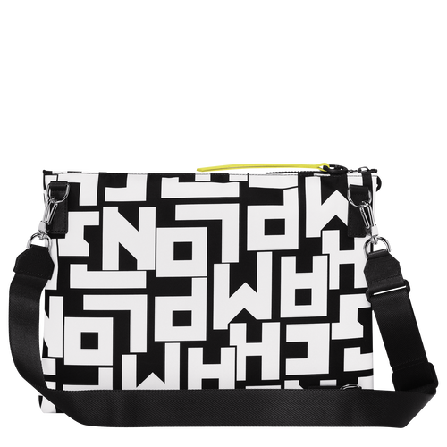 Multi-style pouch, Black/White, hi-res - View 3 of 3